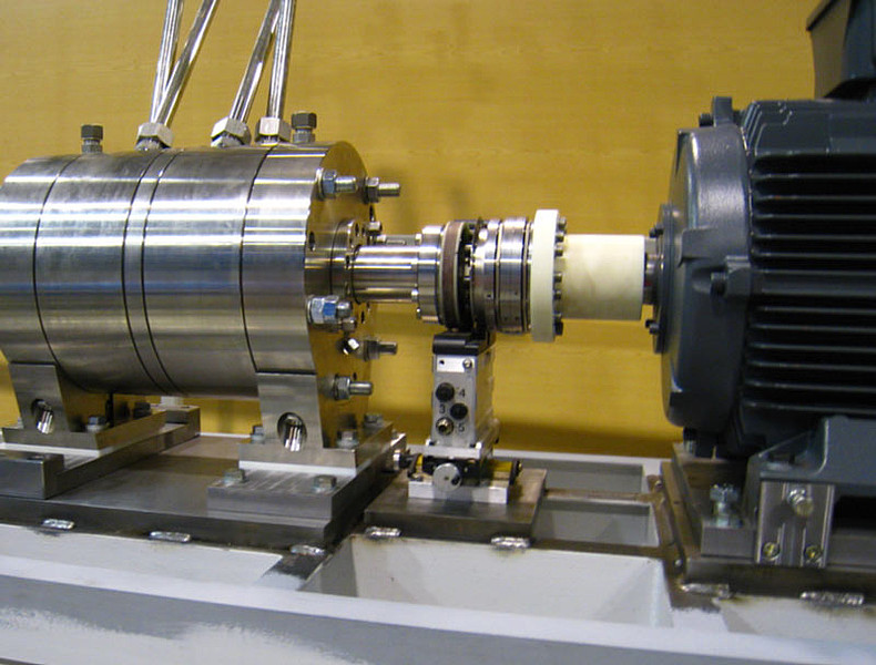Test rig for shaft sealing of pumps institute for Hydraulic motor testing