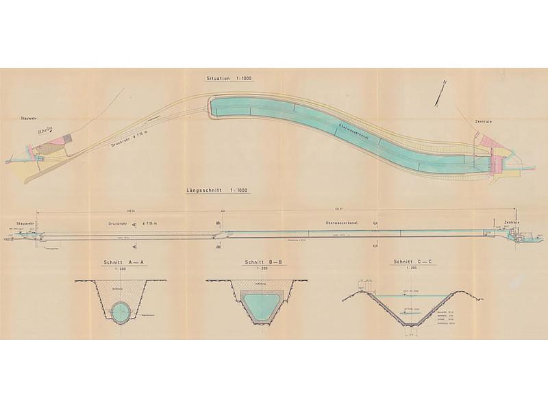 instation re berechnungen f r ein laufwasserkraftwerk institut f r hydraulische. Black Bedroom Furniture Sets. Home Design Ideas